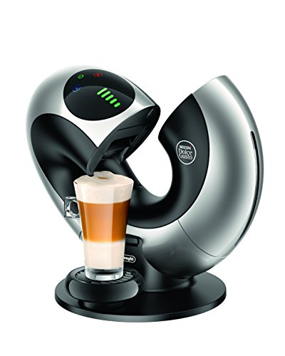 , De'Longhi Nescafe Dolce Gusto Eclipse Touch Coffee Machine – Silver, Best Coffee Maker, Best Coffee Maker