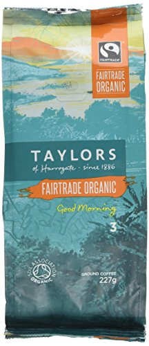 , Taylors of Harrogate Organic Good Morning Ground Coffee 227 g (Pack of 3), Best Coffee Maker, Best Coffee Maker