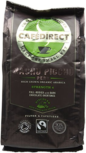 , Cafédirect Fairtrade Machu Picchu Organic Roast & Ground Coffee 227g (Pack of 2), Best Coffee Maker, Best Coffee Maker