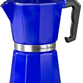 Andrew James Espresso Maker Percolator Moka Pot In Blue, 6 Cup  Andrew James Espresso Maker Percolator Moka Pot In Blue, 6 Cup andrew james espresso maker percolator moka pot in blue 6 cup 270x270 [object object] Best Coffee Maker andrew james espresso maker percolator moka pot in blue 6 cup 270x270