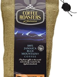 Blue Mountain Coffee 100% Jamaica Roasted Whole Beans by Coffee Roasters