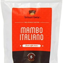 Brown Bear Mambo Italiano Dark Roast Whole Bean Coffee