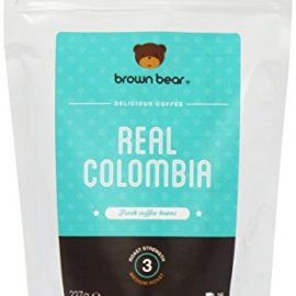 Brown Bear Real Colombia Medium Roast Whole Bean Coffee