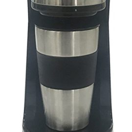 Coffee Maker, Powerlead Single Cup Coffee Personal One Cup Coffee Maker with Travel Coffee Mug Coffee Dripper Brew with Ground Coffee or Coffee Pods coffee maker powerlead single cup coffee personal one cup coffee maker with travel coffee mug coffee dripper brew with ground coffee or coffee pods 270x270
