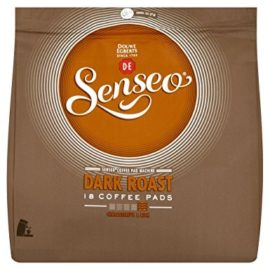 Douwe Egberts Senseo Dark Roast Coffee Pods (Pack of 6, Total 108 Pods)