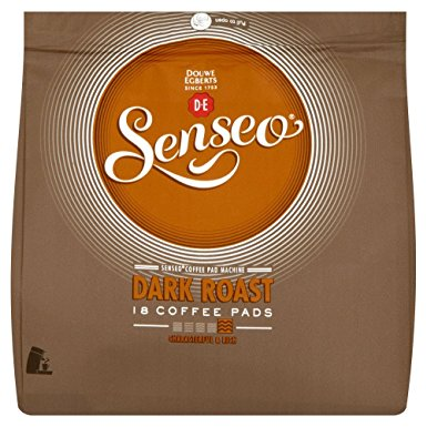 Douwe Egberts Senseo Dark Roast Coffee Pods (Pack of 6, Total 108 Pods) douwe egberts senseo dark roast coffee pods pack of 6 total 108 pods