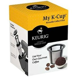 Dreamtop 3 Pack of Reusable Solo Keurig Coffee Pod Filters Stainless Mesh with 1Pc Plastic Spoon