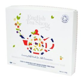 English Tea Shop Organic Luxury Gift Tray (Pack of 96 Tea Bags) english tea shop organic luxury gift tray pack of 96 tea bags 270x270