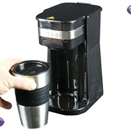 FreshGadgetz QUEST One 1 Single Serve One Cup Personal Coffee Maker Pod + 420 ml Travel Mug freshgadgetz quest one 1 single serve one cup personal coffee maker pod 420 ml travel mug 270x270