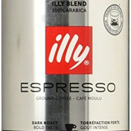 illy Dark Roast Ground Coffee 250 g (Pack of 2)