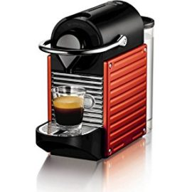 Pixie Electric Red Nespresso Coffee Machine