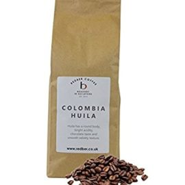 Redber Colombia Huila Freshly Roasted Coffee (Dark, Beans,1kg)