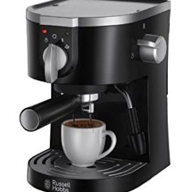 Russell Hobbs 15-Bar Pump Espresso Machine 19720 – Black russell hobbs 15 bar pump espresso machine 19720 black 270x270