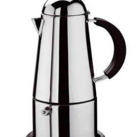 SMARTSTORE 6 Cup Italian ESPRESSO STOVE TOP COFFEE MAKER -Continental Percolator Pot Jug, Camping, Caravan, Brewing Rich Coffee