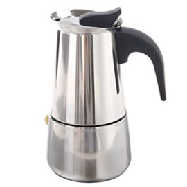 SODIAL(R) 100ML Stainless Steel Coffee Maker Percolator Stove Top Pot