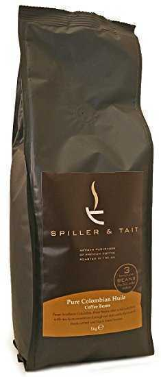 Spiller & Tait Pure Colombian Huila - Coffee Beans 1kg Bag - Top Speciality Coffee Roasted in the UK - Gourmet Beans for Great Tasting Coffee at Home - Premium Quality Arabica Beans  Spiller & Tait Pure Colombian Huila – Coffee Beans 1kg Bag – Top Speciality Coffee Roasted in the UK – Gourmet Beans for Great Tasting Coffee at Home – Premium Quality Arabica Beans spiller tait pure colombian huila coffee beans 1kg bag top speciality coffee roasted in the uk gourmet beans for great tasting coffee at home premium quality ara