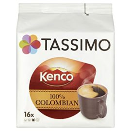 TASSIMO Kenco Colombian 16 Capsules (Pack of 5, Total 80 Capsules)  TASSIMO Kenco Colombian 16 Capsules (Pack of 5, Total 80 Capsules) tassimo kenco colombian 16 capsules pack of 5 total 80 capsules 270x270
