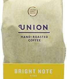 Union Hand Roasted Bright Note Blend Whole Bean Coffee 200 g