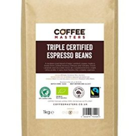 Coffee Masters Triple Certified, Organic, Fairtrade, Arabica Coffee Beans 1kg coffee masters triple certified organic fairtrade arabica coffee beans 1kg 270x270
