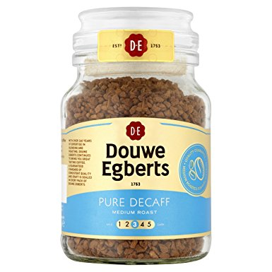 Douwe Egberts Pure Decaff Instant Coffee 95 g (Pack of 6) douwe egberts pure decaff instant coffee 95 g pack of 6