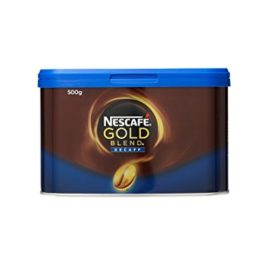 NESCAFÉ Gold Blend Instant Decaffeinated Coffee Tin, 500 g nescafe gold blend instant decaffeinated coffee tin 500 g 270x270