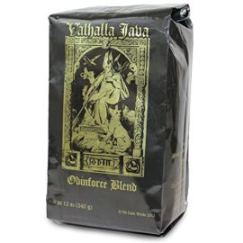 Valhalla Java Ground Coffee by Death Wish Coffee Company, Fair Trade and Organic 12 ounce bag valhalla java ground coffee by death wish coffee company fair trade and organic 12 ounce bag 270x270