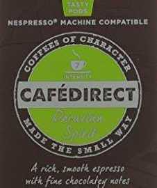 Cafédirect Organic Fairtrade Nespresso Compatible Coffee Capsules Machu Picchu (Pack of 5, Total 50) cafedirect organic fairtrade nespresso compatible coffee capsules machu picchu pack of 5 total 50 226x270