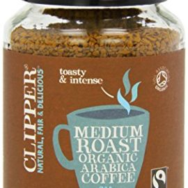 Clipper Fairtrade Organic Medium Roast Instant Coffee 200g (Pack of 2)