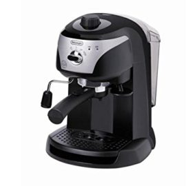 Delonghi Traditional Pump Espresso Coffee Machine, 1100 W, Black_Parent