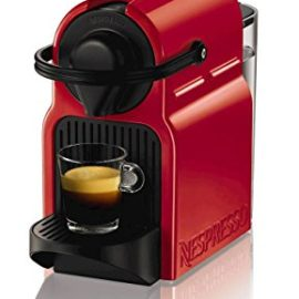 Krups Nespresso Inissia Coffee Capsule Machine – Ruby Red