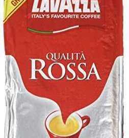 Lavazza Caffe Qualita Rossa Coffee 250 g (Pack of 6)