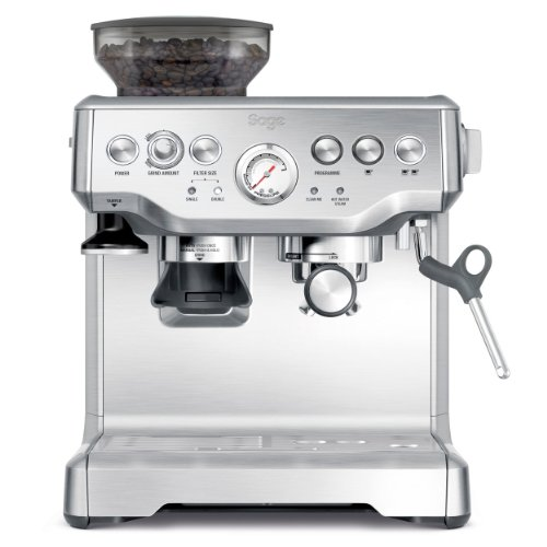, Sage by Heston Blumenthal BES870UK the Barista Express Espresso Machine – Silver, Best Coffee Maker
