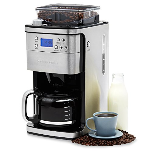 filter coffee machine Andrew James Filter Coffee Machine with Integrated Bean Grinder 51WpCy5tsL